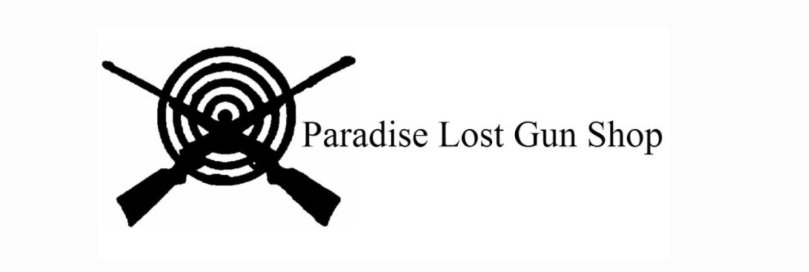 Paradise Lost Gun Shop Logo